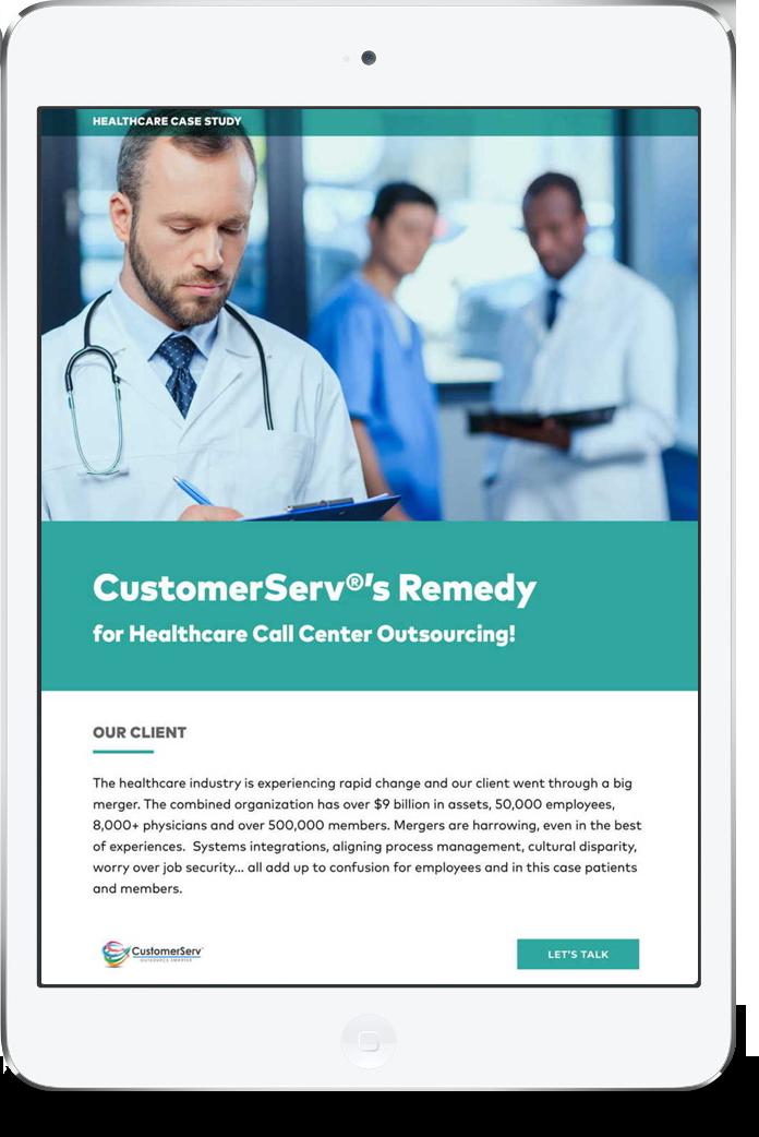 Healthcare iPad graphic